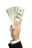 Geld in die Hand