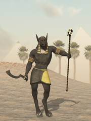 Anubis Egyptian god of the dead