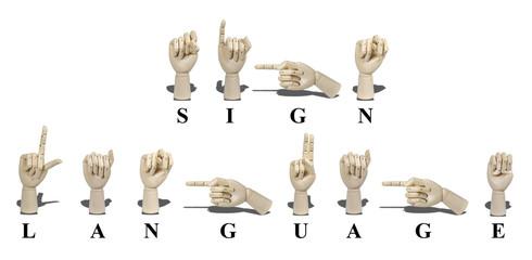 Sign Language in American Sign Language