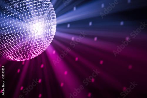 oświetlenie party disco ball