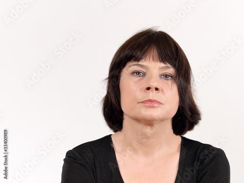 Verärgerte Frau
