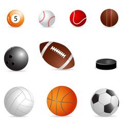 different balls
