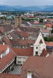 Sibiu Transylvania Romania poster