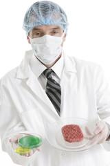 Recherche Bactérilogique après intoxication alimentaire