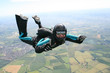 Close-up of skydiver in freefall - 33409163