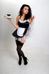 The girl the servant