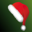 Weihnachtsmütze mit Bommel