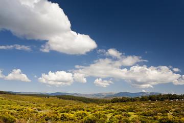 Nubes en la Sierra de la Morcuera