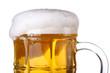 Detaily fotografie Beer background