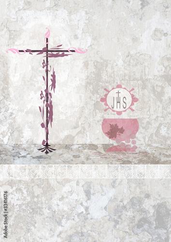religione crocefisso calice