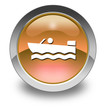"Orange Glossy Pictogram ""Motorboating"""