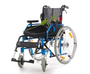 Rollstuhl leer rose