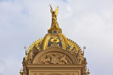 goldene Kuppel
