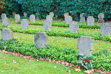 European world war cemetery