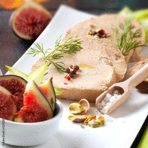 canvas print picture Foie gras