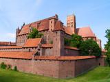 Fototapeta medieval castle in Malbork