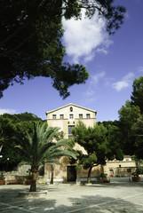 Ermita de la Victoria, Alcudia, Mallorca, Islas Baleares