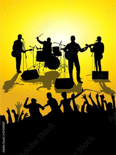 open air concert