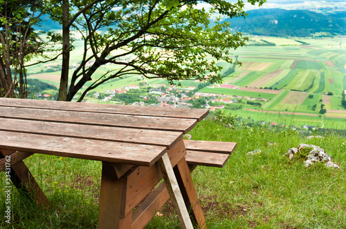 Picnic area in mountains - 33431762