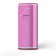 Pink a retro the fridge
