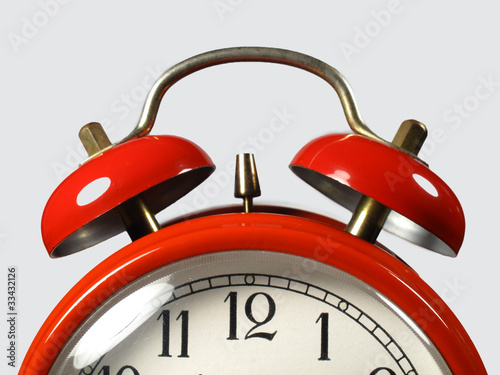 canvas print picture Clock of red rope