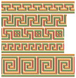 Greek-Roman seamless mosaics