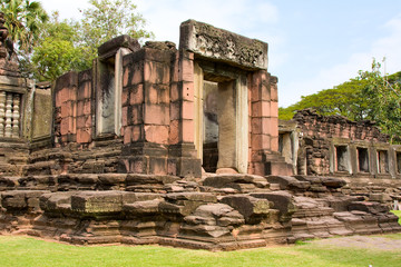 Phimai Castle, a historic and ancient castle in Thailand