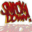 Smack Down Comic Sound Effect Text