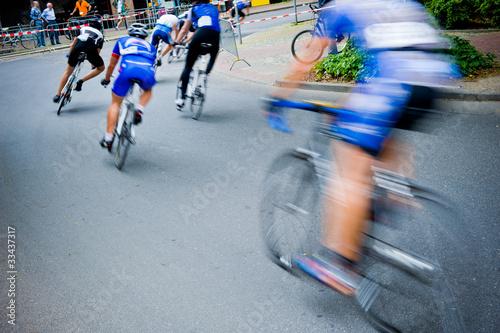 Fotobehang Wielersport bike race