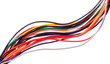 Colorful electrical cables - 33438931