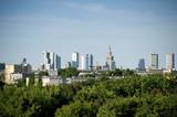 Fototapete Wolken - Europa - Warschau