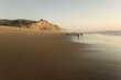 San Gregorio Beach and cliffs, California State Beach