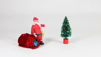 Claymation Santa
