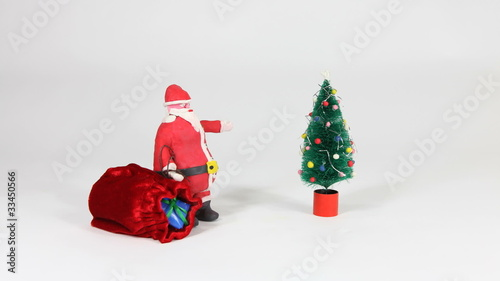 Claymation Santa