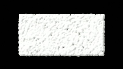 Wiggly worms,white bubbles and cells explosion debris.