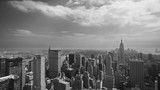 New York Old Film Look (from helicopter)