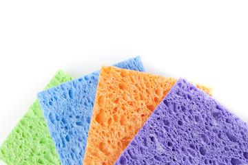 A colorful sponge