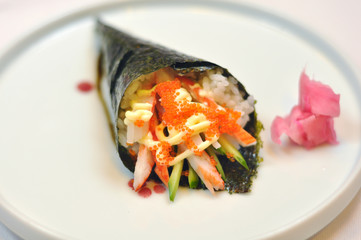Japanese food - sushi caviar