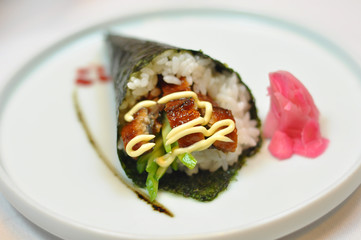 Japanese food - sushi sturgeon