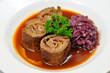 Western food - beef roll