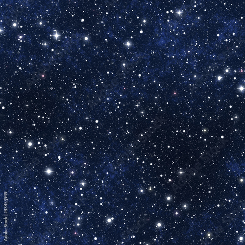 star filled night sky - 33453949