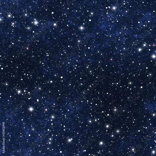 Leinwanddruck Bild star filled night sky
