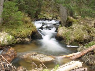 beautiful water stream