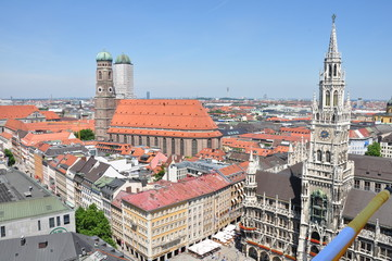 city center of Munich, Germany