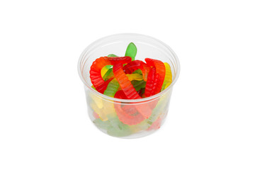 Gummy Worms from the Candy Aisle