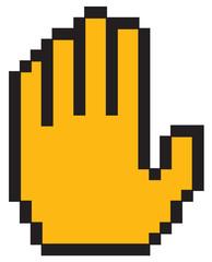 Pixel Stop Hand