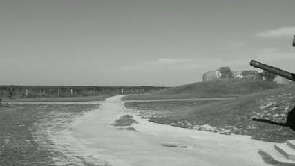 Batterie militaire et son panorama