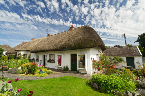 Irish traditional cottage house of Adare