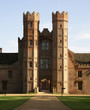 Oxburgh Hall gatehouse.