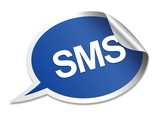 SMS speech bubble